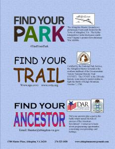 find park trail ancestor