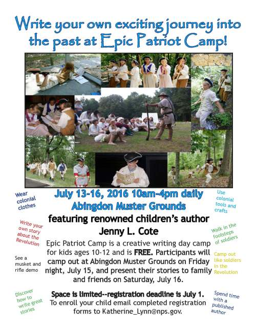 Epic Patriot Camp flier-1
